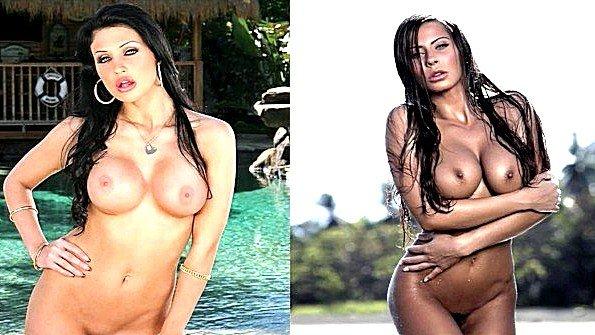 Нарезка роликов с двумя грудастыми порно звёздами