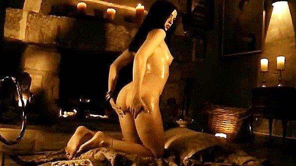 Экзотический индийский ритуал перед еблей