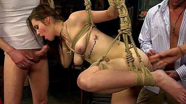 связанные телки жесткое порно