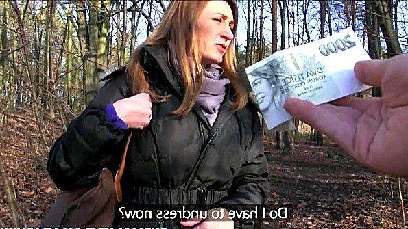 Незнакомка согласилась заняться сексом за бабло в лесочке